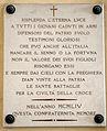 Cimitero dall'antella, cappella di santa maria assunta, lapidi vittime delle guerre, 1954, 02.JPG