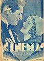 Cinema, semanário cinematográfico N.º 1, 23 de Janeiro de 1932, capa.jpg