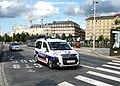 Citroën Berlingo french police - Strasbourg main train station.JPG