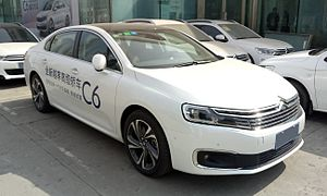 Citroën C6 - New generation C6 based on the PSA PF3 platform