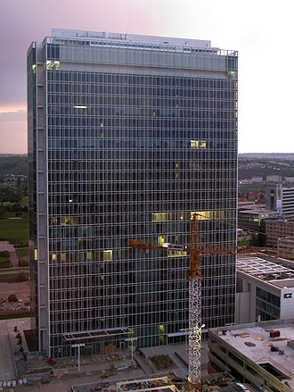 City Tower (Prague) - City Tower in 2008, shortly before completion