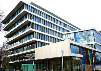 City of Westminster College - City of Westminster College's Paddington Green Campus opened in January 2011