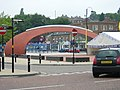 Civic Heart - New sculpture and market place in town - geograph.org.uk - 525392.jpg