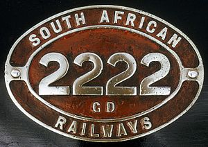 South African Class GD 2-6-2+2-6-2 - Image: Class GD no. 2222 ID