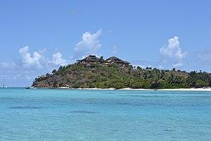 Necker Island (British Virgin Islands) - The Great House on Necker Island, built after Hurricane Irene in August 2011.