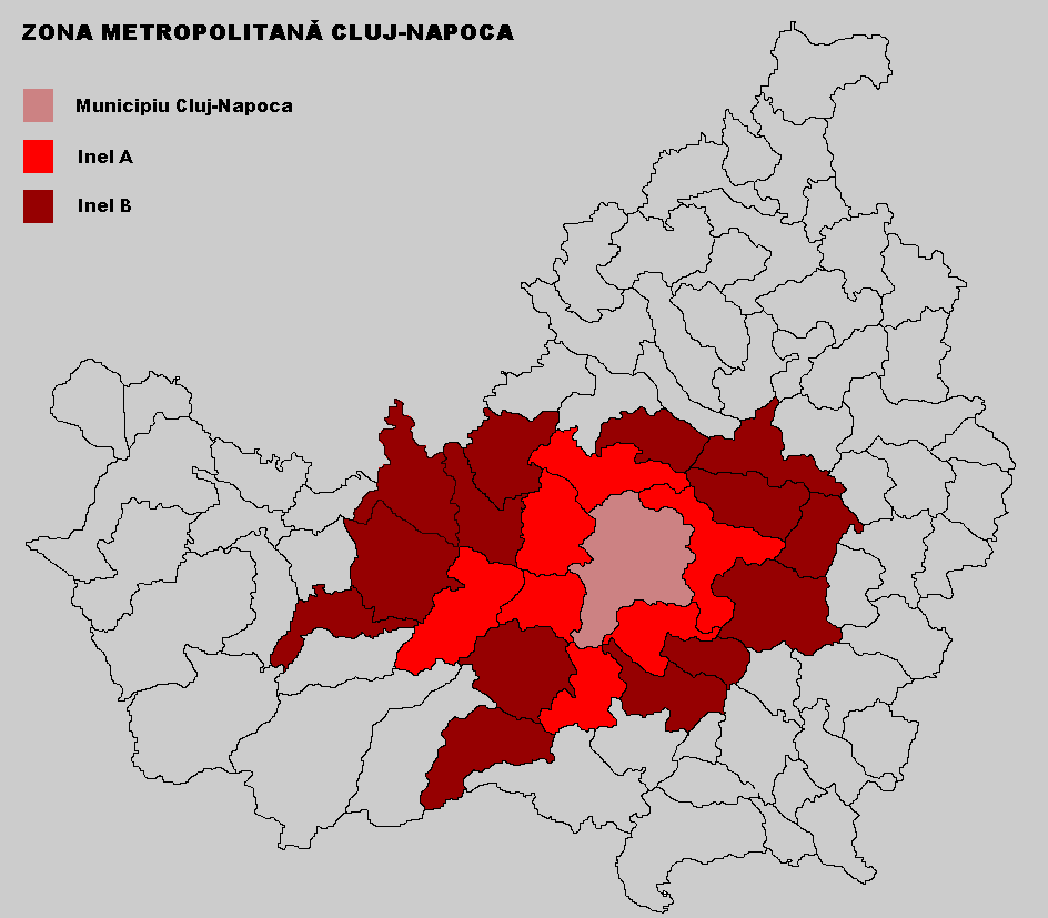 Cluj-Napoca Metropolitan Area jud Cluj