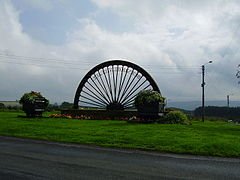 Coal Chauldrons and pit wheel sculpture at Burnhope.jpg