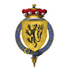Coat of Arms of Sir Lionel de Welles, 6th Baron Welles, KG.png