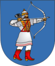 Coat of Arms of Turaŭ, Belarus.png