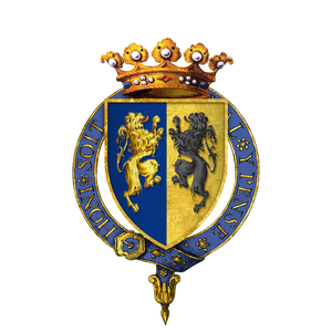 William I of Guelders and Jülich - Gartered arms of William I, Duke of Guelders and Jülich