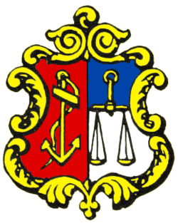 Coat of arms of the Norwegian Veritas.png