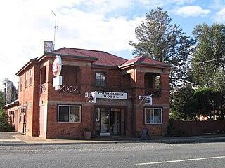 Colbinabbin Town in Victoria, Australia