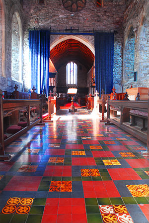 Collegiate Church of St Mary Youghal - Image: Collegiate Church inside 1