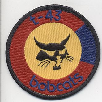 "Boeing T-43 - Colorado ANG T-43 ""Bobcat"" patch"