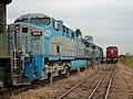 Comboios em cruzamento no Pátio da Estação Ferroviária de Itu - Variante Boa Vista-Guaianã km 203 - panoramio.jpg