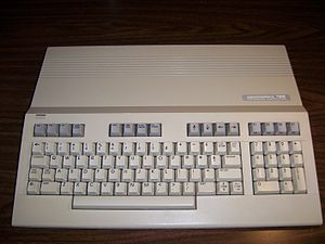 HI-RES photo of a Commodore 128