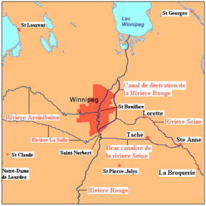 Carte Canada Manitoba.Winnipeg Wikiwand