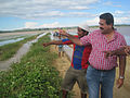 Congresista Merino visita lugares afectados por el río Tumbes (7027956275).jpg