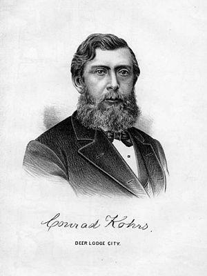 Conrad Kohrs - Conrad Kohrs, ca. 1885