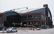Conseco Fieldhouse, home of the Pacers & Fever