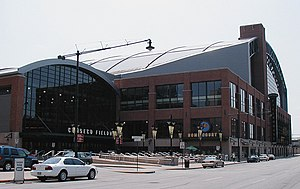 Das Bankers Life Fieldhouse in Indianapolis