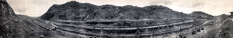 Construction of Panama Canal, Isthmian Historical Society, ca1913