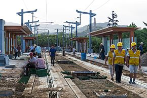 Construction of West Gate of Summer Palace Station (20170524172112).jpg