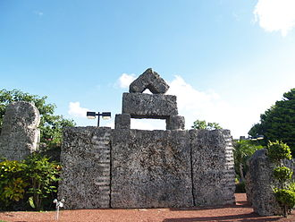 Coral Castle - The Thirty Ton Stone.
