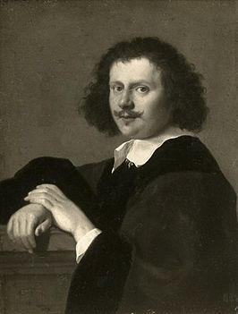 Portret door Cornelis van Poelenburch, 1648