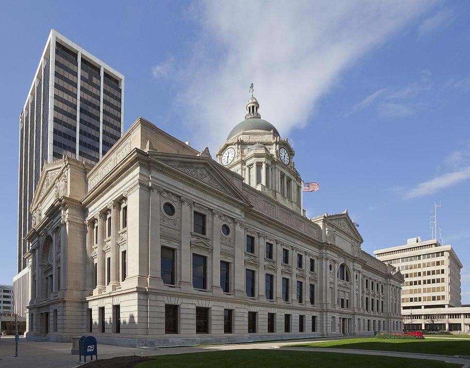 Cortes del Condado de Allen, Fort Wayne, Indiana, Estados Unidos, 2012-11-12, DD 03