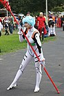Cosplay of Rei Ayanami from Neon Genesis Evangelion at AnimagiC 2009 (20090801).jpg