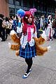 Cosplayer of Ahri, League of Legends at CWT41 20151212a.jpg