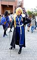 Cosplayer of Olivier Mira Armstrong, Fullmetal Alchemist in CWT42 20160213.jpg