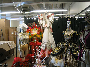 Costume coordination - Costume storage at Radio City Music Hall, New York
