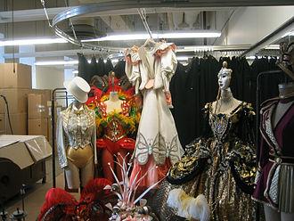 Costume coordination - Costume storage at Radio City Music Hall, New York