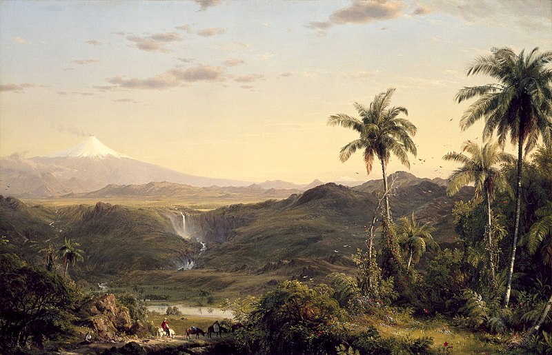 Fredric Edwin Church, Cotopaxi, Oil on canvas, 1855