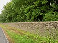 Cotswold stone wall alongside the A433 near Dunkirk - geograph.org.uk - 1392493.jpg