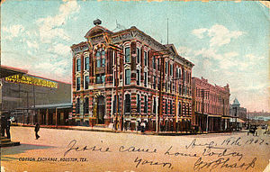 1884 Houston Cotton Exchange Building