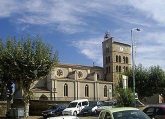 Coursan - Image: Coursan, Eglise Notre Dame 1