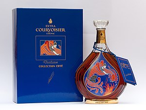 "Erté - Image: Courvoisier, Erté, no 3 ""Distillation"""