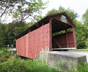 Creasyville Covered Bridge - The bridge in September 2012