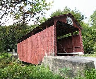Creasyville Covered Bridge - The bridge in September 2012