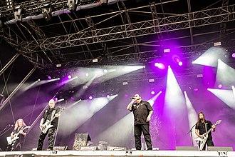 Crematory (band) - Crematory at Rockharz 2018