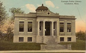 Polk County, Minnesota - Image: Crookston Mn Library