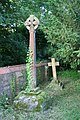 Crosses by the wall - geograph.org.uk - 1364210.jpg