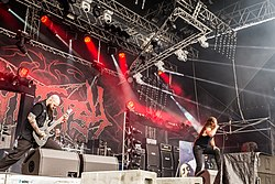 Cryptopsy auf dem Party.San Metal Open Air 2017