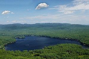 Crystal Lake (Gilmanton, New Hampshire) - Image: Crystal Lake 1As GF