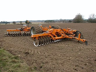 Disc harrow - A modern Simba disc harrow
