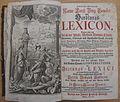 Curieuses und Reales Natur- Kunst- Berg- Gewerck- und Handlungs-Lexicon (1746) - Titelkupfer und Titelblatt.jpg