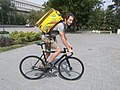 Cycle Delivery boy Mr Pasha from Russia..jpg